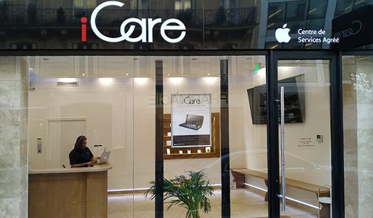 Centre de Services Agrée Apple © - Centre iCare Champs Elysées