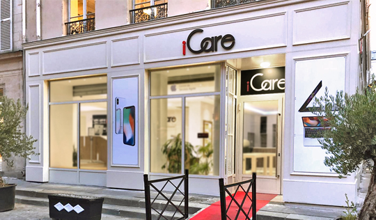 Centre de Services Agrée Apple © - Centre iCare Hausmann Laffayette